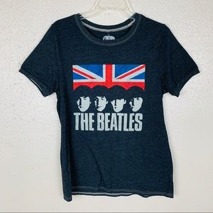 The Beatles Union Jack Graphic Tee Large